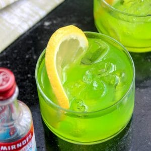 Ghostbusters Ectoplasm Vodka Cocktails