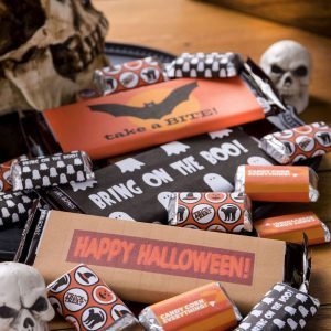 Candy Bar Wrapper Free Halloween Printables