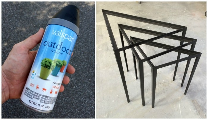 Nesting tables step 7