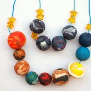 DIY Outer Space Kids Jewelry