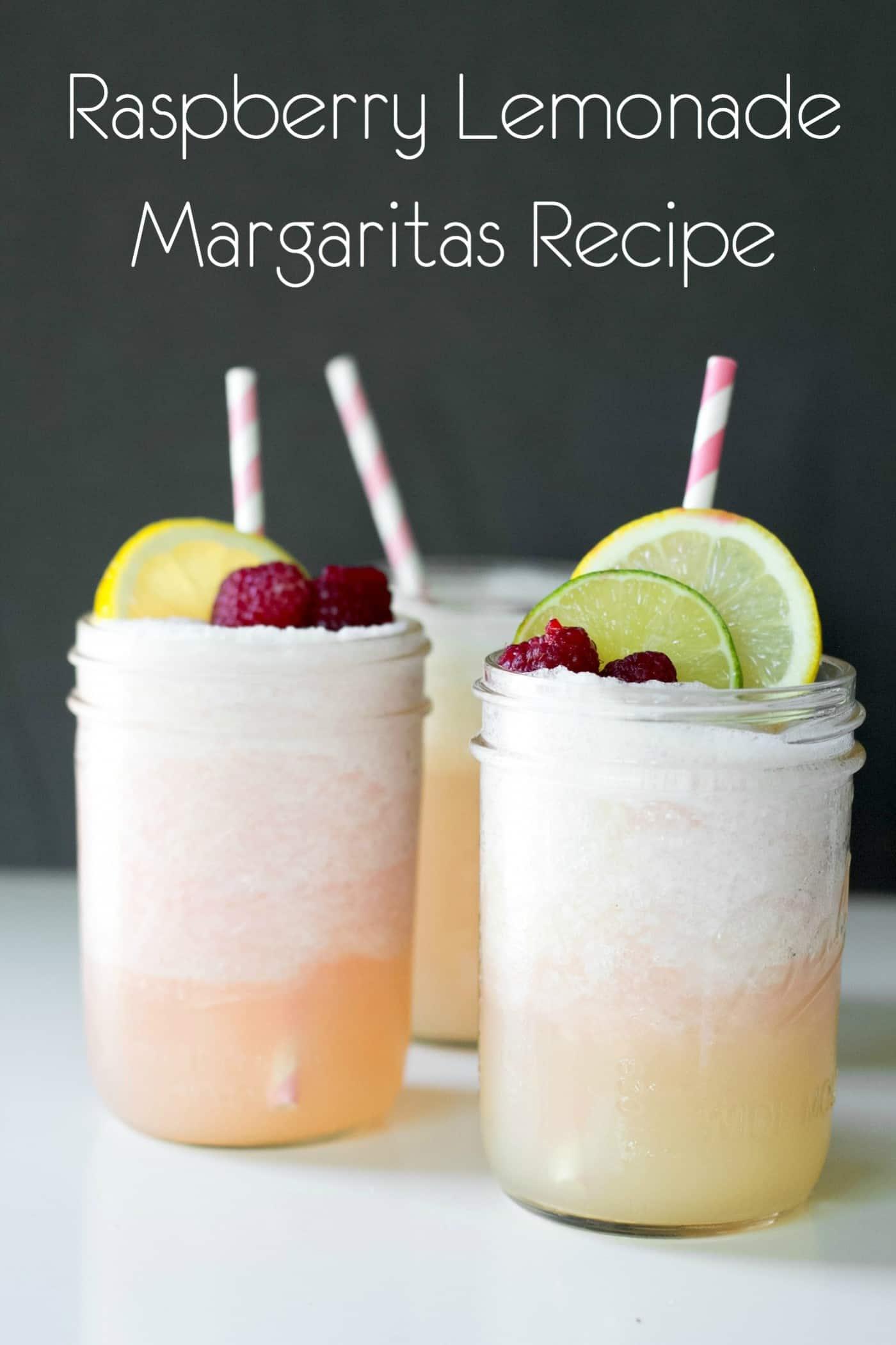 Raspberry Lemonade Margarita Recipe