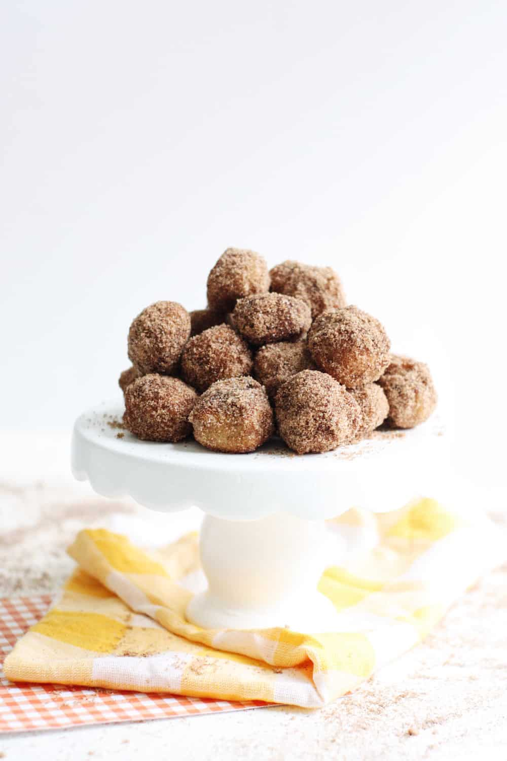 Baked Homemade Donut Holes