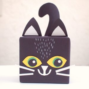 Cute Kitty Paper Gift Box