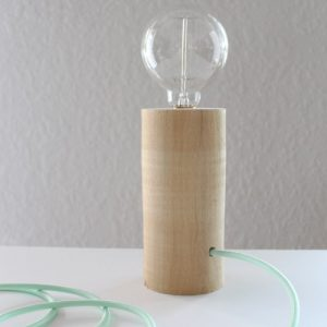 20 Unique DIY Wood Lamps