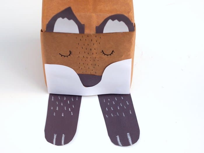Make a super cute woodland themed gift box with this fun fox craft idea! Kids will love making it and you probably have a lot of the supplies already.
