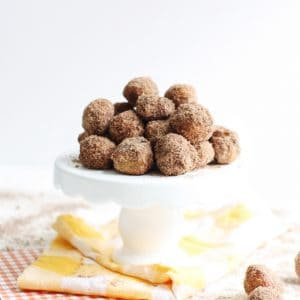 Baked Pumpkin Spice Donut Hole Recipe