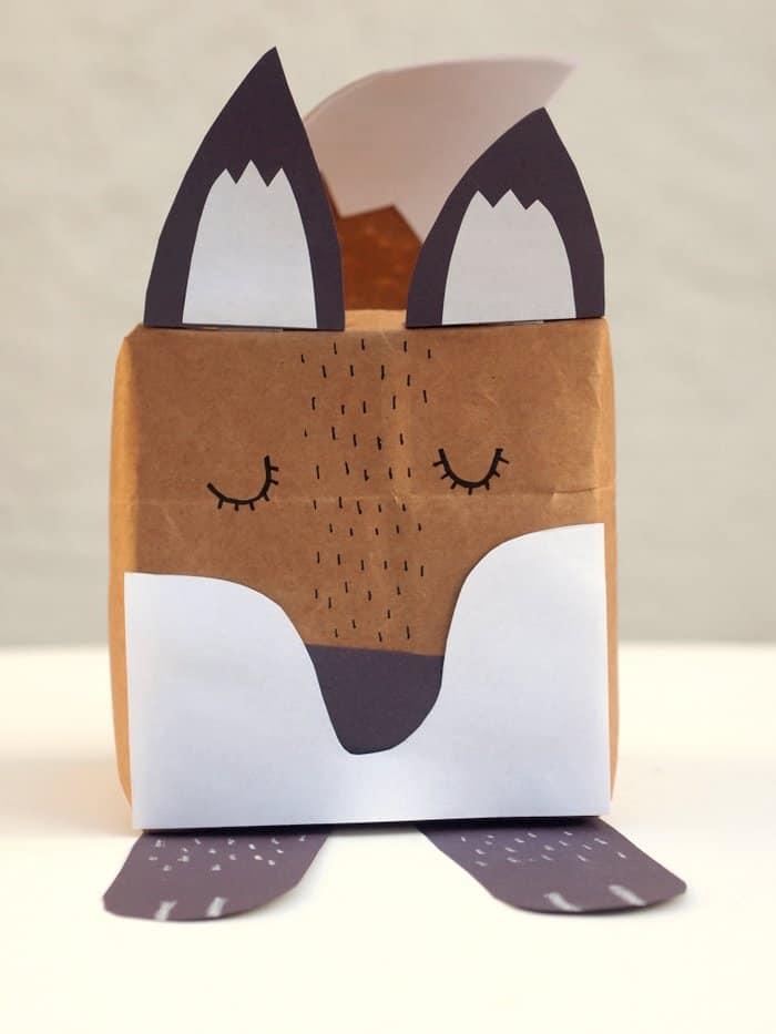 Fox Craft Make A Gift Box Diy Candy
