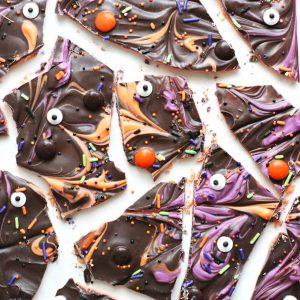 Spooky Layered Halloween Bark