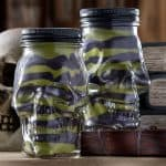 Do you remember sand art from when you were young? Revisit it in this fun Halloween project using skull mason jars! Perfect for holiday decor.