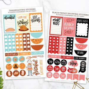 Thanksgiving and Black Friday Printable Plann...