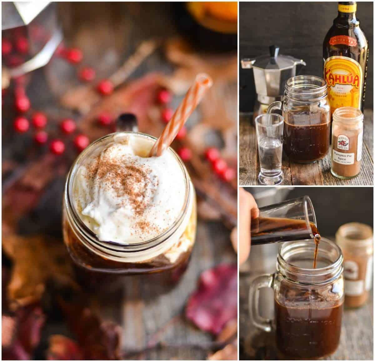 Drinks With Kahlua: Pumpkin Pie Spice Cocktail