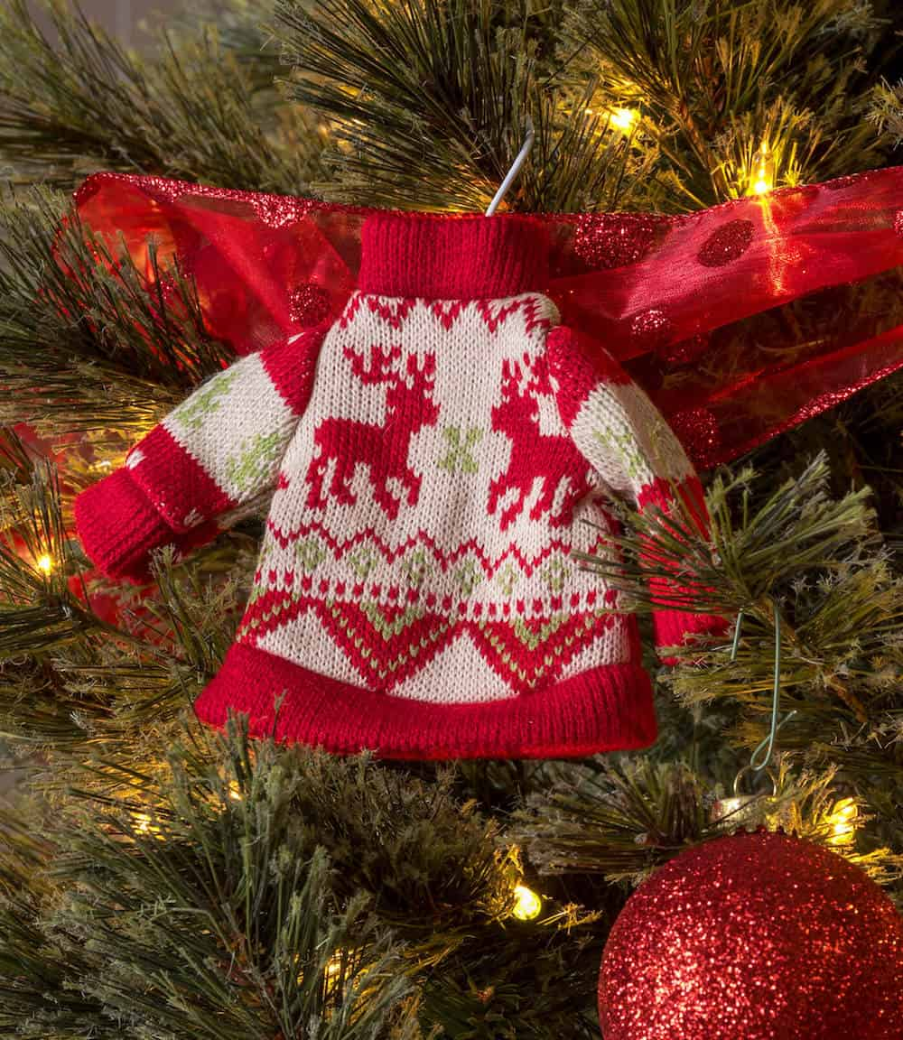 """Ugly Sweater"" Unique Christmas Tree Theme - ornaments"