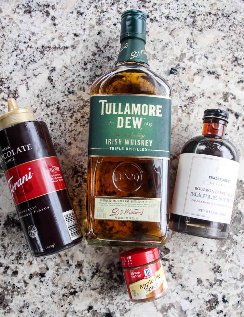 Spiked Hot Chocolate Irish Whiskey with Marshmallows - diycandy.com