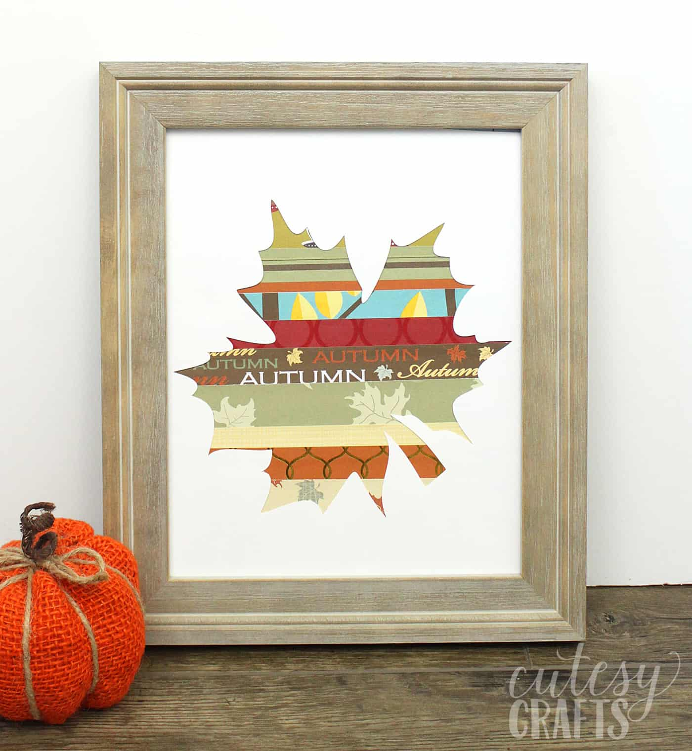 photo about Printable Fall Crafts named Simple Tumble Crafts: Sbook Paper Leaf - Do it yourself Sweet