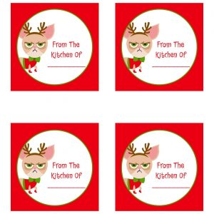 Free Grumpy Cat Christmas Printables