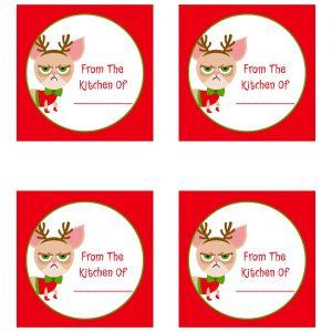 Free Grumpy Cat Christmas Printables