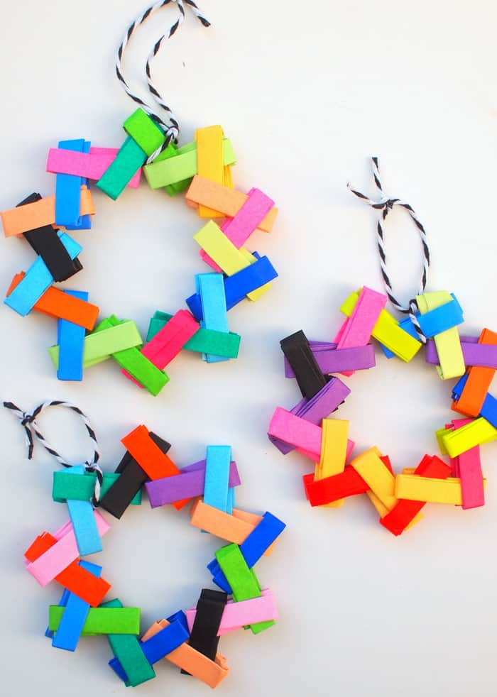 Origami Paper Christmas Tree Ornaments - diycandy.com