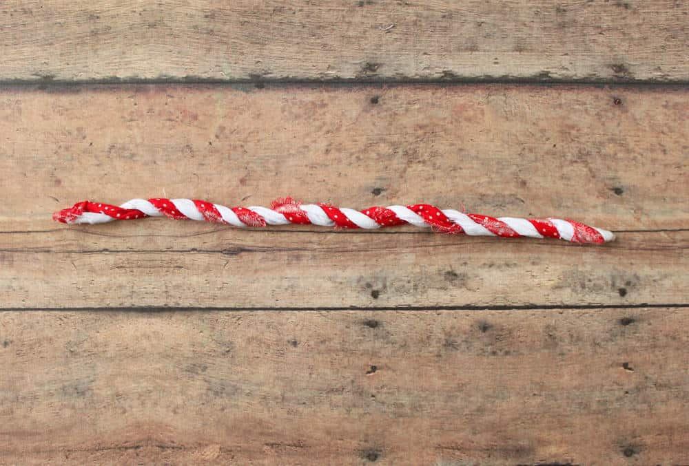 how to make candy cane decorations