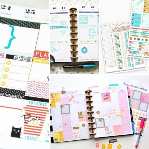 20 Awesome Happy Planner Free Printables