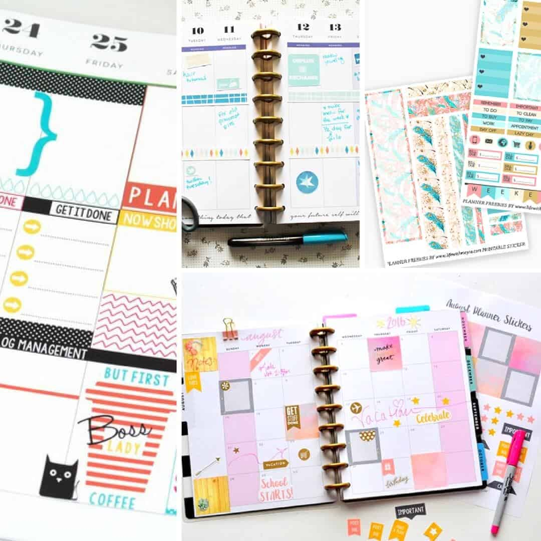 photo regarding Happy Planner Monthly Layout Printable known as 20 Remarkable Pleased Planner No cost Printables - Do it yourself Sweet