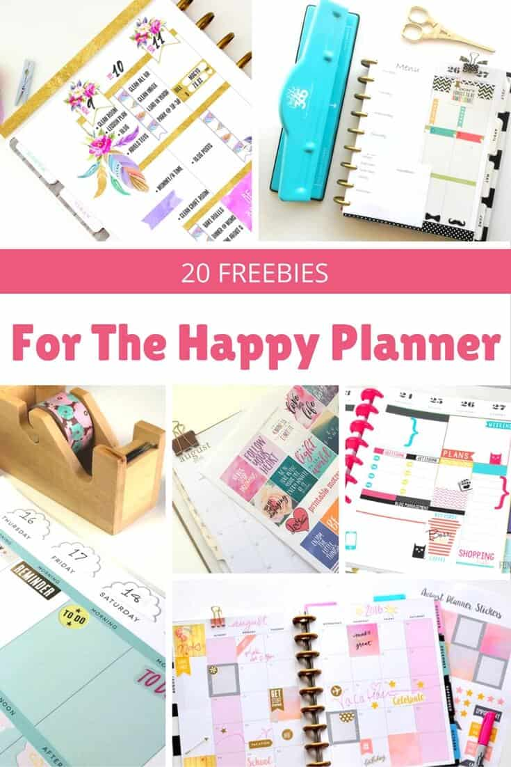 Happy Planner Calendar : Awesome happy planner free printables diycandy