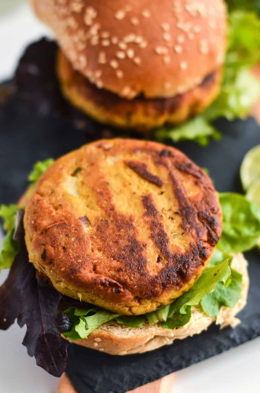 If you're interested in trying jackfruit recipes, these curry burger patties are for you! They are the perfect substitute for red meat. So delicious!