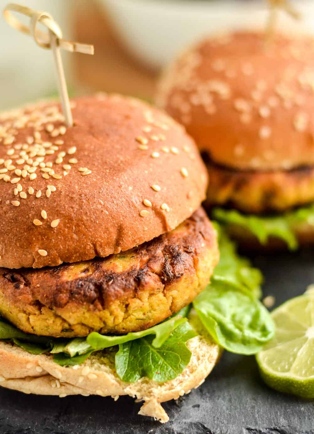 Jackfruit Recipes: Curry Burger Patties