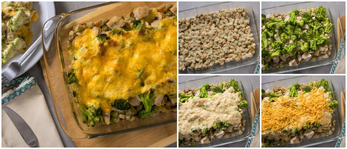 You'll love this chicken and broccoli casserole - and so will the whole family. Prep takes ten minutes. It's cheesy, golden, and filling!