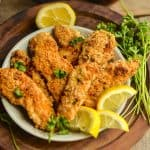 Easy breaded paleo chicken tenders