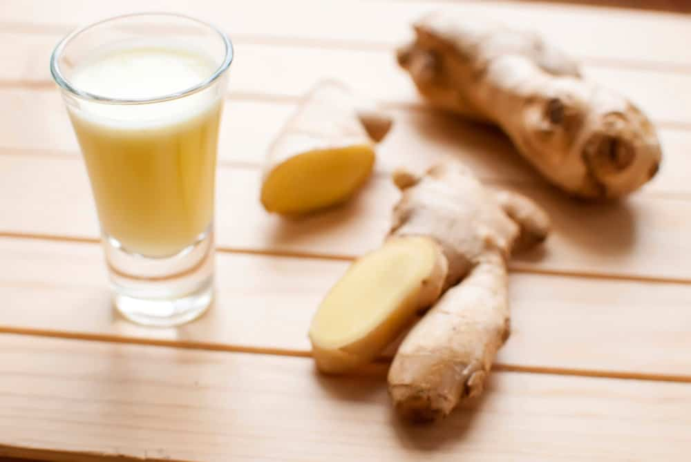 Flu fighting ginger shots