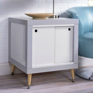 Genius IKEA Hack: Lack DIY End Table