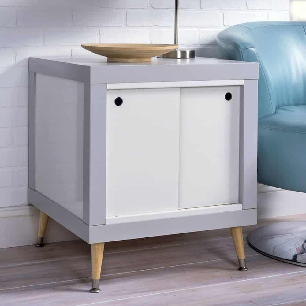 Genius ikea hack lack diy endtable - Ikea table lack ...