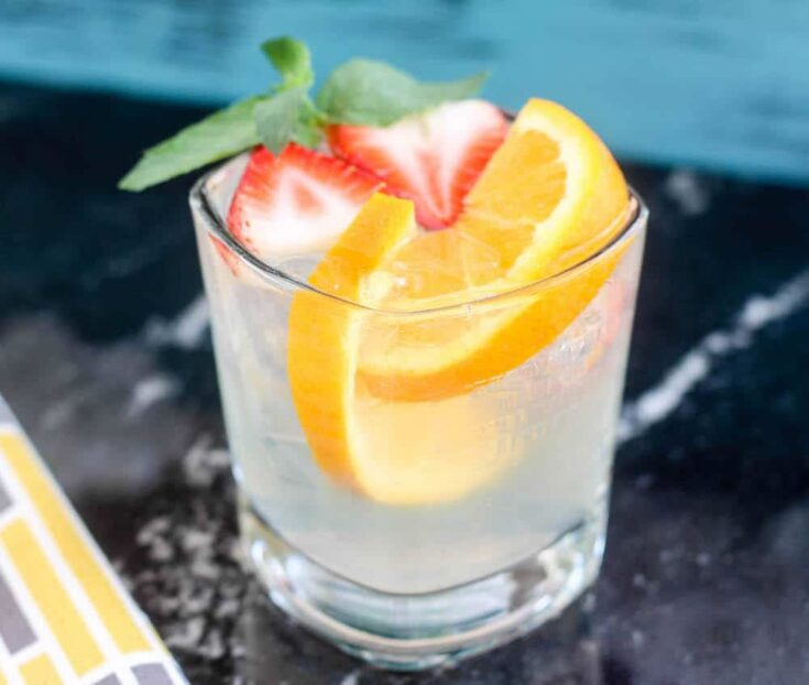 Easy white Sangria recipe for a party