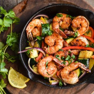 Delicious Paleo Shrimp and Veggies (Whole 30)...