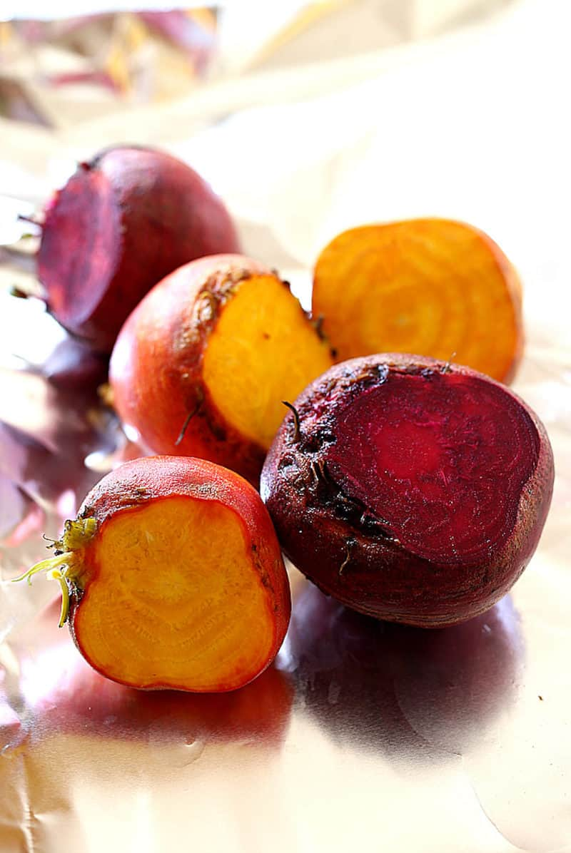 how to make roasted beets on the grill