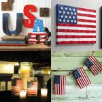 4th of July crafts patriotic decor
