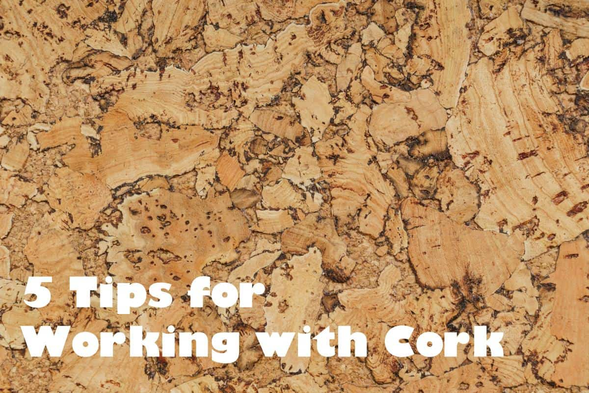 Do you like working with cork in your crafts? I love the natural look of this unique material. Here are my top five tips for being successful.