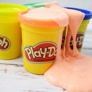 Easy Play Doh Slime Recipe (no Borax!)