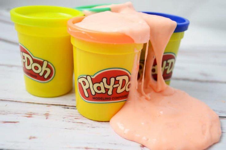 Play Doh Slime