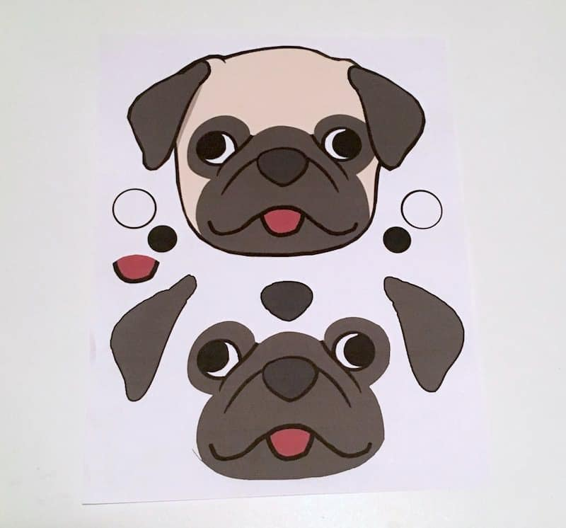 "Learn how to make a ""pug life"" bag with Duck Tape. This DIY bag is so easy to make - gift it to yourself or a pug loving friend!"