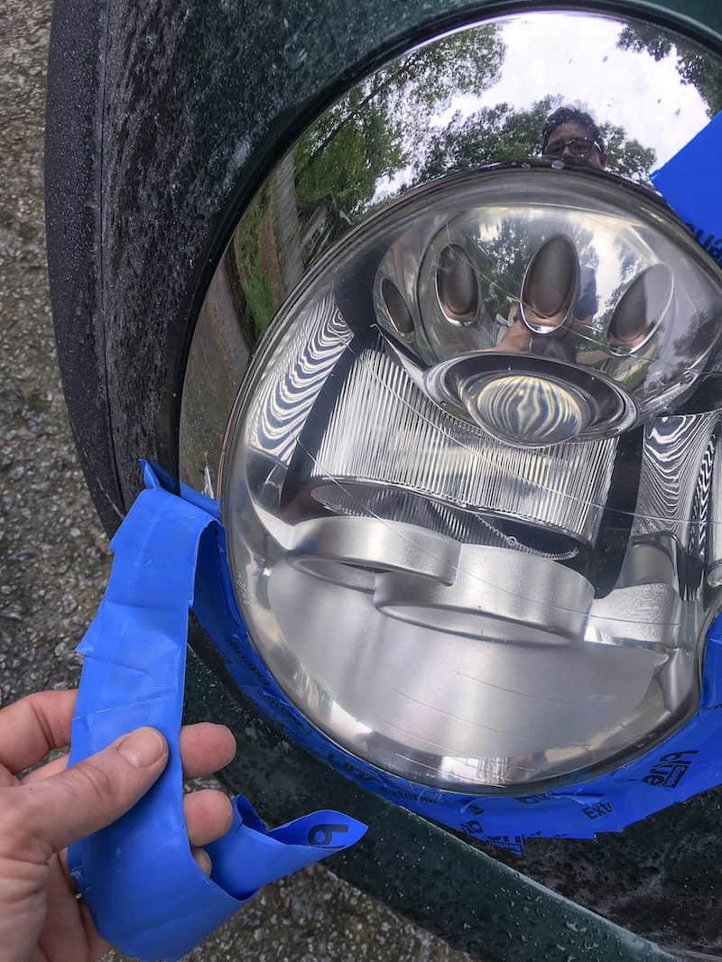 We found the best headlight restoration kit, and want to share our process with you. Restore your headlights inexpensively and in 30 minutes.