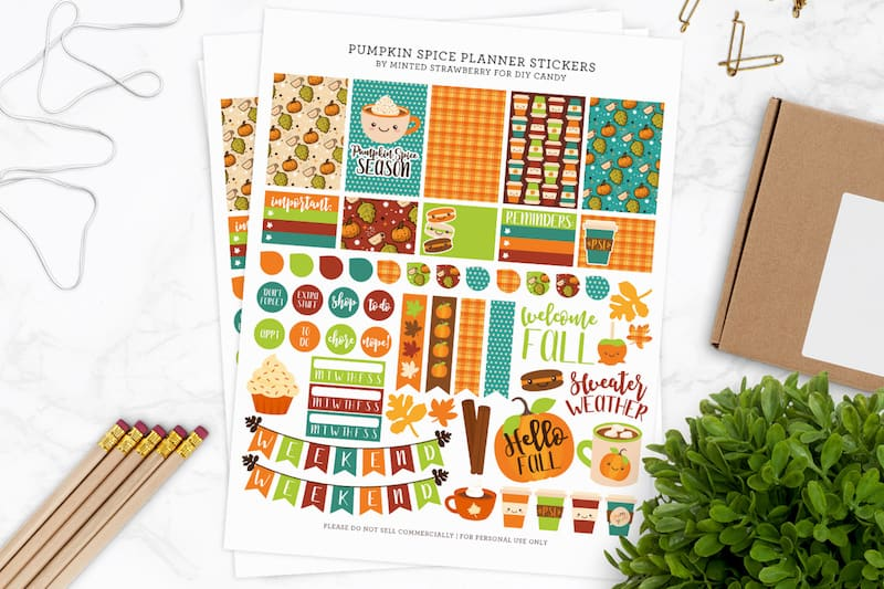 20 Awesome Happy Planner Free Printables Diy Candy