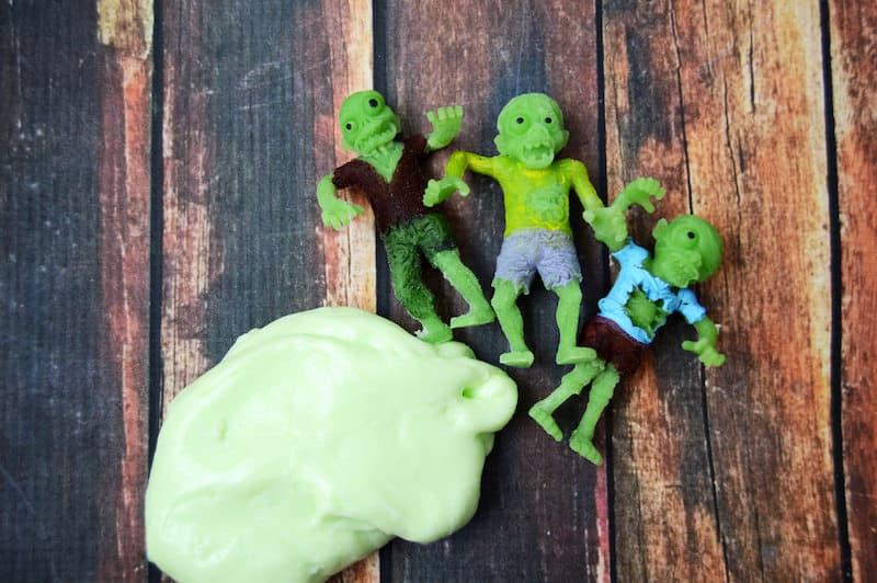 DIY Halloween slime