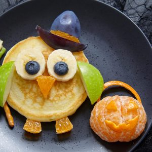 How to Make Halloween Pancakes