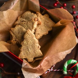 Cinnamon Almond Shortbread Paleo Cookies