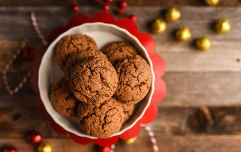 These delicious ginger cookies are packed with yummy almond butter and fall spices. They are completely grain free and paleo approved.
