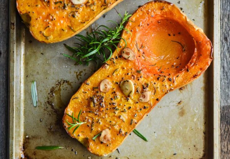 Rosemary Roasted Butternut Squash Recipe Diy Candy