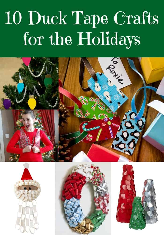 10 Duck Tape Crafts for the Holidays