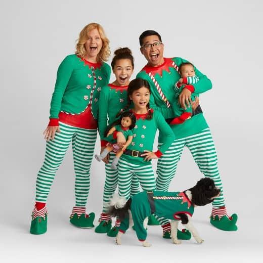 Family Christmas Pajamas Blue.15 Of The Best Matching Family Christmas Pajamas Diy Candy