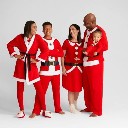Santa Family pajamas collection